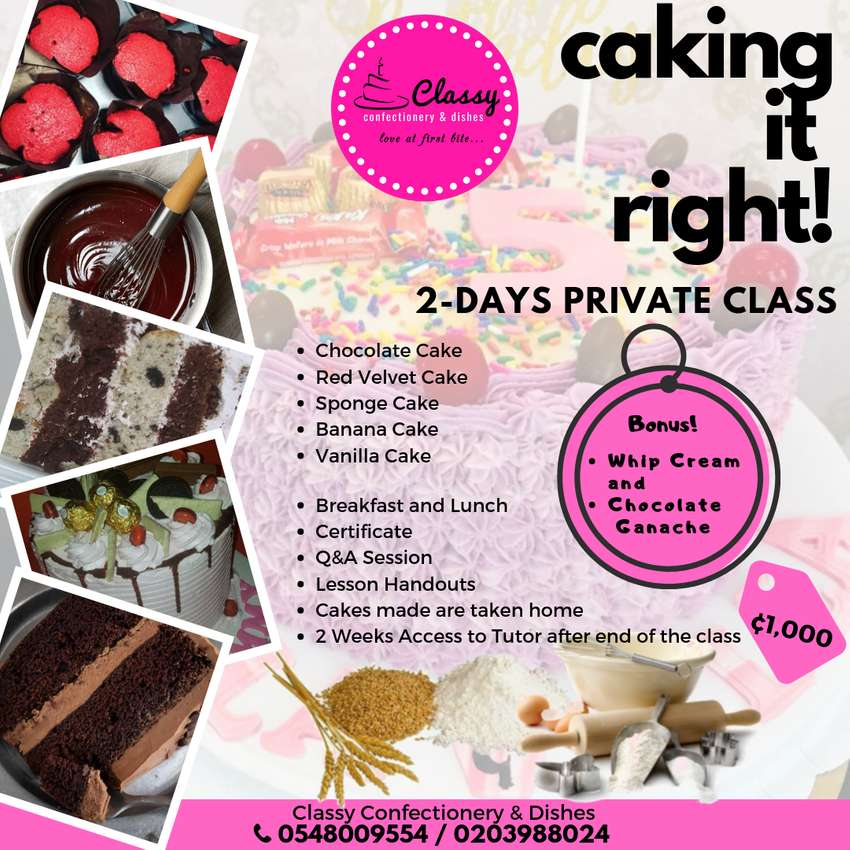 Private Baking Class! 0
