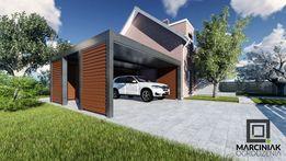 Wiata garażowa carport zadaszenie