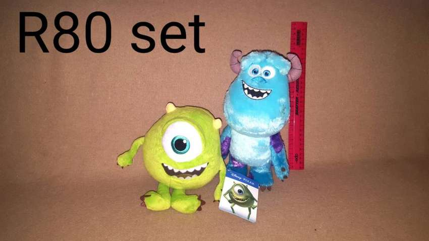 Soft toys and Teddies all Disney and characters 0