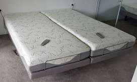 Motion Essential Electric Adjustable Bed & mattress Split King size