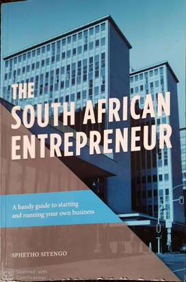 The South African Entrepreneur book for sale