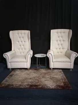 One Seater VIP Event Couches