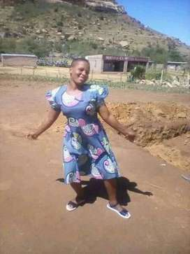 31 year old Lesotho maid or nanny needs stay in work