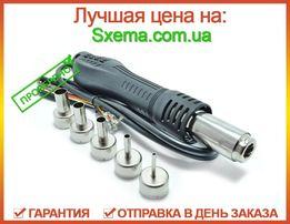 Фен для паяльной станции с насадками 5шт (турбина, термопара, геркон)