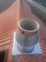 Frezowanie diamentowe kominów SCHIEDEL rozwiercanie Systemy kominowe