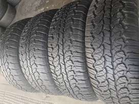 Set of 275/70/16 A/T tyres for sell