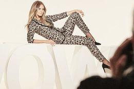 Крутой костюм от Esmara Хайди Клум леопардовый евро 38