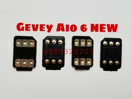 Gevey Aio 6, R-SIM unlock iphone 4s 5 5s 5c 6 6s 6s+ 7 7+ 8 X