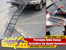 Portable Bike Ramp R950, can be used as a quad bike ramp too – portabl