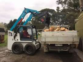 QUICKIEST RUBBLE REMOVAL BOBCAT HIRE TIPPER TRUCK HIRE TLB HIRE