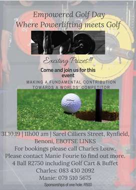 Empowered Golf day Event