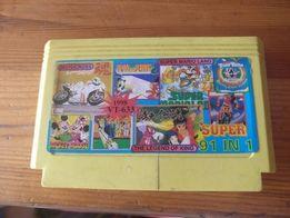 Kartridż dyskietka SUPER 91 in 1 Pegasus konsola