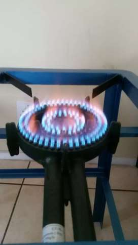 Gas griller and stove