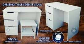 Dressing Table with stool for sale