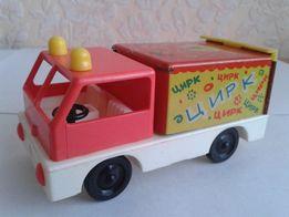 Машина Цирк игрушка СССР