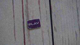 PLAY KARTA NANO SIM karta kolekcjonerska