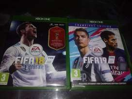 Fifa 18 and 19 champions edition