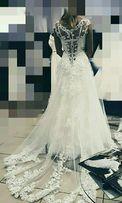 Продам красивое, очень нежное свадебное платье!