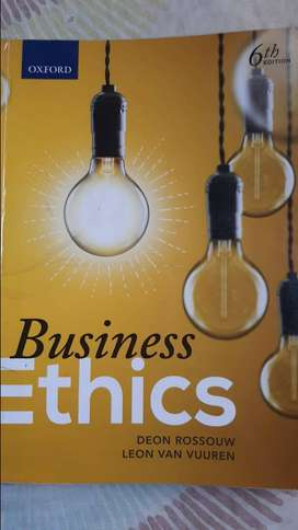 Oxford Business Ethics Textbook