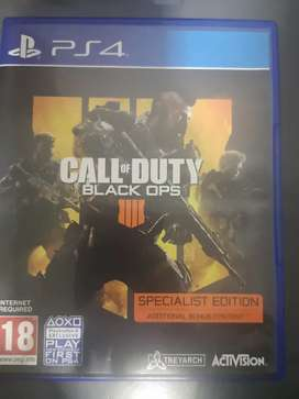 Call of Duty Black Ops 4-Specialist Edition PS4