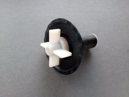 Крыльчатка ротор сливного насоса Indesit стиральной машины (оригинал)