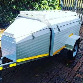 6ft Trailer With Roof Racks and Tailgate