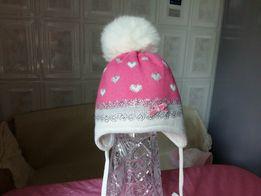 зимняя шапка Jamix Польша для девочки