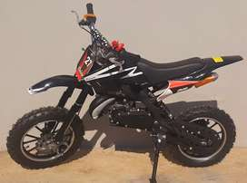 49cc Black Kids Dirt bike for ages 4 to 10 years old