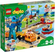 Lego Duplo Лего Дупло Грузовой поезд 10875