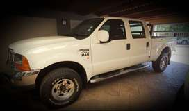FORD F250 4X4 DOUBLE CAB