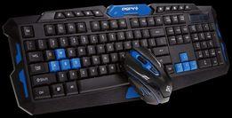 Игровой набор клавиатура+мышь HK8100 USB русская