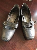 Кожаные туфельки 36 размер Франция