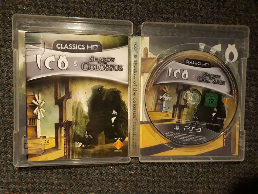 Ico & Shadow of the Colossus for PS3 english/german version 0