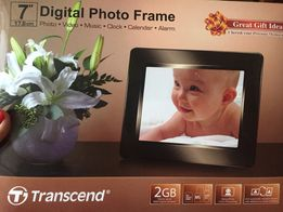 Transcend Digital Photo Frame 17,8cm 7""