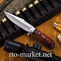 Нож нескладной(фиксированный), не складной туристический, охотничий