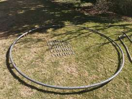Trampoline Springs and Poles