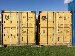 Kontener kontenery morski magazynowy 20 DV 6m CAŁA POLSKA od 6500 PLN