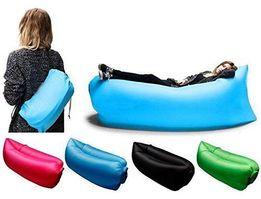 Надувной шезлонг диван мешок Ламзак Lamzac Air матрас биван кресло