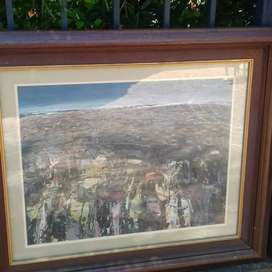 Highly Investment Art Well Known South-African Artist Hermann Niebuhr