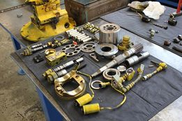 Продажа и ремонт гидравлики на погрузчики JCB в Украине