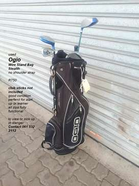 Used OGIO golf bag . Wire stand bag