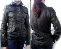 Продам оригинальную кожаную куртку Timberland, утепленную, размер М