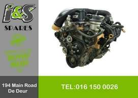 TOYOTA QUANTUM COMPLETE RECONDITIONED PETROL ENGINE FOR SALE
