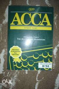 ACCA The Accounting Framework paper 1 0
