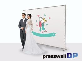 Свадебный баннер, фотозона, прессвол (press wall)