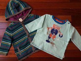 Sweterek + bluzeczka TED BAKER r.74, 6-9 miesięcy