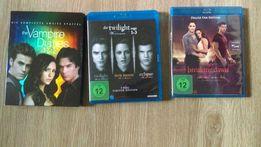 Plyty dvd blu-ray Twilight, Vampire Diaries