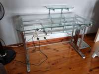 Glass Computer Table 0
