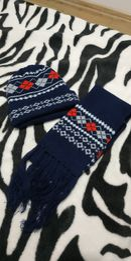 Набір шапка зимова та шарф