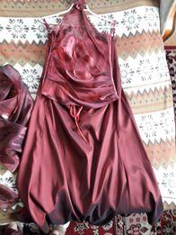 Elegancka suknia,komplet,r.40